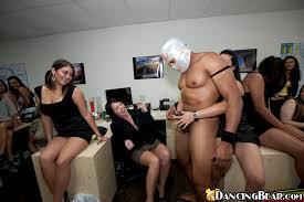 Cfnm office babes sucking stripper cock
