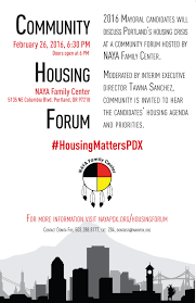 flyers forum community housing forumnative american youth and family center