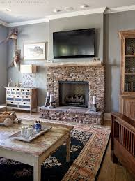 phoenix fossil gray paint benjamin moore the lettered cottage cottage fireplacepaint fireplacefireplace mantlesfireplace