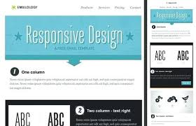 Free Templates For Publisher Free Responsive Email Template Newsletter Design Templates