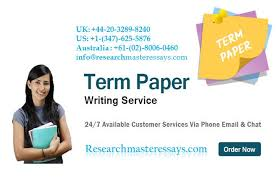 essential features of a good term paper writing service provider