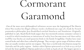 Download Garamond Cormorant Garamond Font Download For Web Or Photoshop