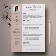 Modern Resume Templete Modern Resume Template Cv Template For Ms Word Professional Resume Design Resume Cover Letter Resume Instant Download