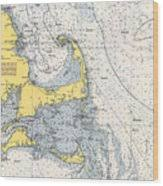 Nautical Chart Of Cape Cod 1945h By Paul And Janice Russell