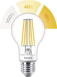 Philips Sceneswitch Filament Retro Led Led Lamp E27 Peer 75 W 60 W Warmwit 1 Stuks Philips Lighting Sceneswitch F