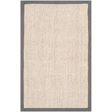 natural fiber marble grey 3 ft x 4 ft area rug