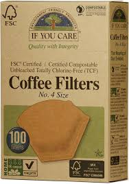 Industrial certified compostable and home industrial certified compostable material is the most commonly used, especially in the pod market. If You Care Compostable Unbleached Coffee Filters No 4 100 Filters If You Care