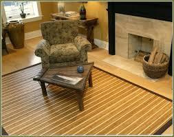 bamboo area rug rugs 4x6