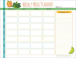 Weekly Meal Planer Weekly Meal Planner Diary Plant Based Cooking