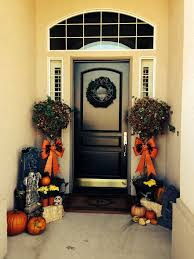 Halloween-- beautiful ideas for Halloween entryway