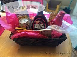 diy bachelorette gift basket gift bag idea