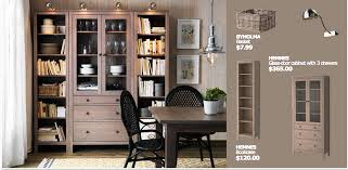 Living Room Cabinet Ikea Ikea Hemnes Office Solution House Home Pinterest Offices