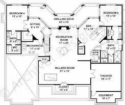 Waterford Empty Nester House Plan Ranch Floor Plans - House with basement plans