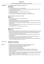 Resume For Architecture Job Senior Technical Consultant Resume Samples Velvet Jobs 14