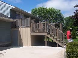 Deck Designs With Storage Underneath Add A Storage Shed Underneath Your Deck Deck With Storage
