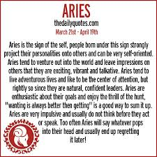 Zodiac Signs Quotes 15 Amazing Picture Quotes Of Aries KSLDaily