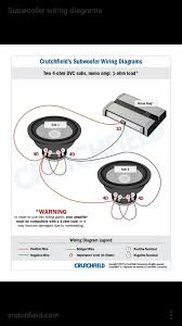 how to wire watt subwoofers to a amp monoblock amp quora voice coil you will want your subs to be 4 ohms dvc if you want to wire i down to 1 ohm in best case senario or 2 ohm subs svc