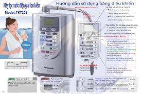 Máy lọc nước điện giải – cổ máy thần thánh ? - Máy lọc nước điện giải  Panasonic tk7208