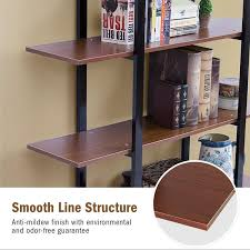 industrial style shelving. Melia Vintage Industrial Style 5-Tier Etagere Bookcase Shelving