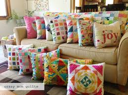 One day my couch will look like this too!! From: Crazy Mom Quilts ... & oh clementine pillow (crazy mom quilts) Adamdwight.com