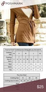 Camel Size Chart Venus Criss Cross Detail Cardigan Belt Xl Never Worn Great