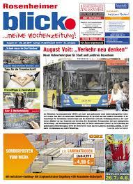 Rosenheimer Blick Ausgabe 29 2019 By Blickpunkt Verlag