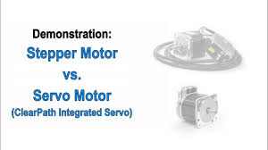 stepper motors vs servo motors a clearpath demonstration