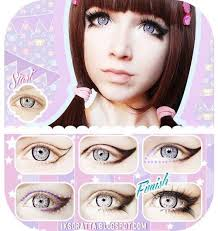 winged doll eye makeup tutorial evatornado evatornado