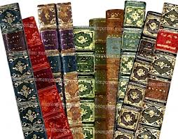 bookmarks antique book lover library paintings printable vine book marks book spine digital collage sheet instant 061