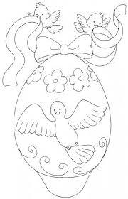 Disegni Di Pasqua Le Uova Da Stampare E Colorare Wycinanki Z