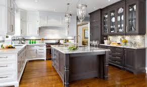 kitchen trends two toned kitchen