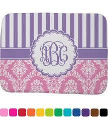 bathroom pink purple damask memory foam bath mat personalized potty lavender alluring pink purple damask
