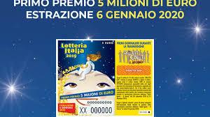 Diretta Lotteria Italia, estrazione dei biglietti: vinti 5 ...