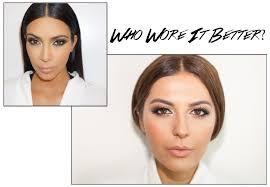 kim kardashian look a like