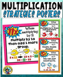 8x8 Multiplication Chart Multiplication Strategies And Tricks Charts Superhero Theme