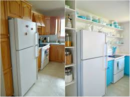 Small Kitchen Makeover 30 Small Kitchen Makeovers Before And After Home Interior And Design