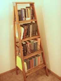 image ladder bookshelf design simple furniture. Simple DIY Ladder Bookshelf Image Design Furniture E
