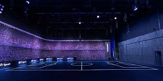 sport flooring and led lighting at school