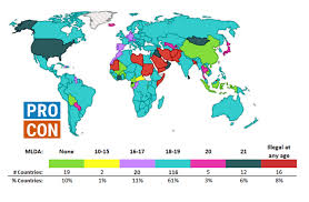 How Many Drinks Is 08 Chart Minimum Legal Drinking Age In Other Countries Drinking Age