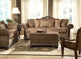 traditional living room furniture ideas. -Homelegance Catalina Sofa In Cherry Traditional Living Room Furniture Ideas V