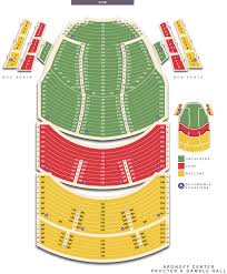 Detailed Seating Chart Aronoff Center Www