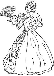 Sfoglia 20 Barbie Principessa Da Colorare E Stampare Aestelzer