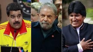 Resultado de imagem para lula, Maduro evo morales