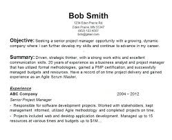 Objective Statement For Resumes Objective Statement For Resume Sample Career Change Resume 97