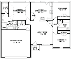 three simple 2 level house plans
