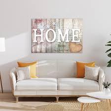 Die farbe brilliert in einzelnen elementen der dekoration. Holz Leinwand Deko Bild Abstrakt Xxl Wandbilder Blumen Home Wohnzimmer 3 Motiv Ebay