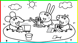 Free Printable Peppa Pig Coloring Pages For Kids And Adults