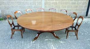 brushed steel extra large round dining table oak long cloths extra large round dining table seats tables