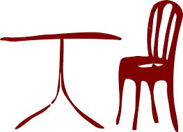round table and chairs clipart. lately table chair clip art at clker com vector online, round and chairs clipart
