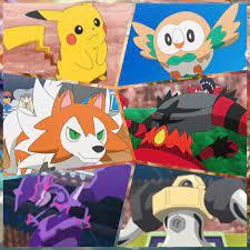 Ash's current alola party | Pokemon alola, Cool pokemon wallpapers, Pokemon  manga